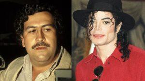 Pablo Escobar y Michael Jackson