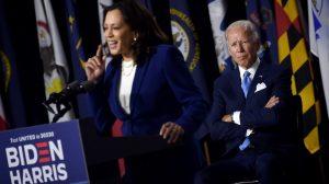 Kamala Harris y Joe Biden