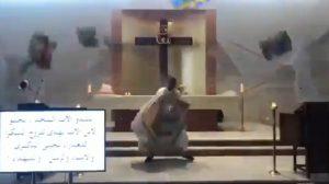 Explosión afecta iglesia en Beirut