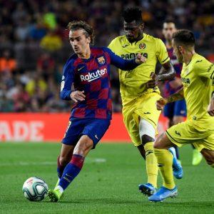 Barcelona vs Villareal, Liga Española