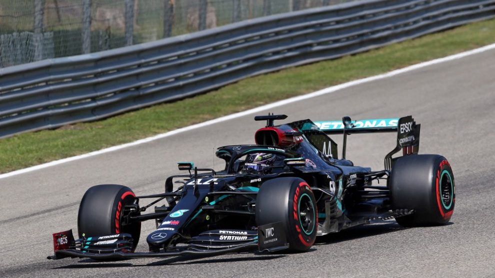"Lewis Hamilton gana la ""pole position"" del GP de Italia"
