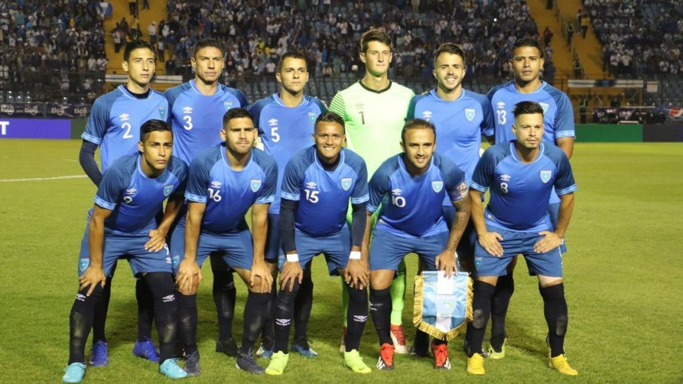 Convocatoria de la selección nacional de Guatemala