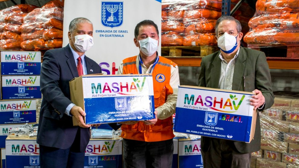 Donación de la embajada de Israel al Ministerio de Salud