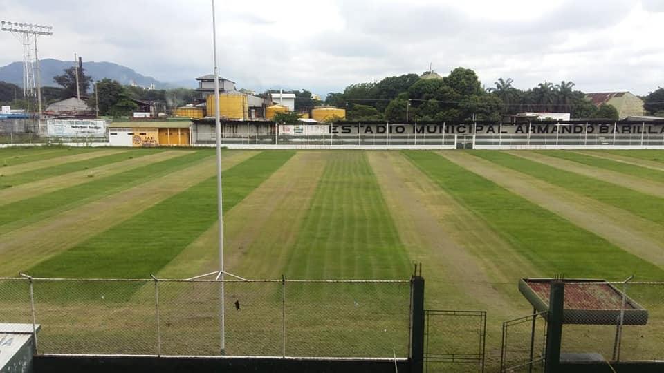 Estadio Armando Barillas, sede de Naranjeros Escuintla