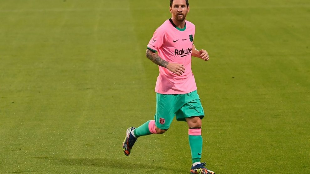 Barcelona vence al Girona con doblete de Messi