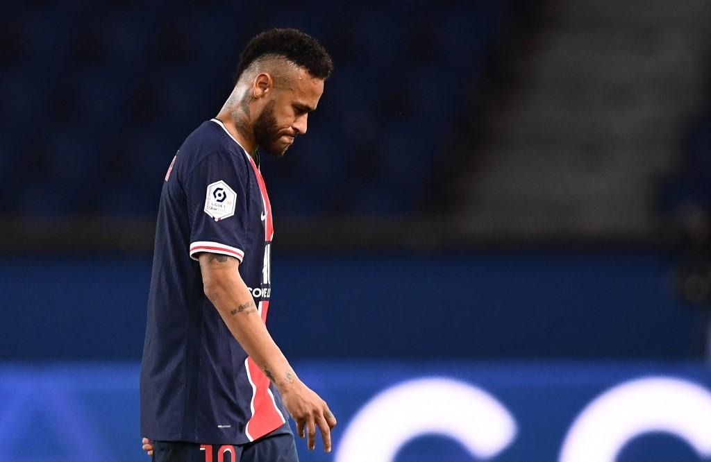 Neymar expulsado del partido PSG vs Marsella