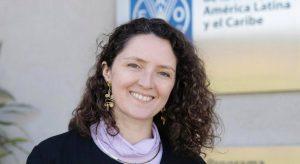 Sara Granados, consultora de la FAO.