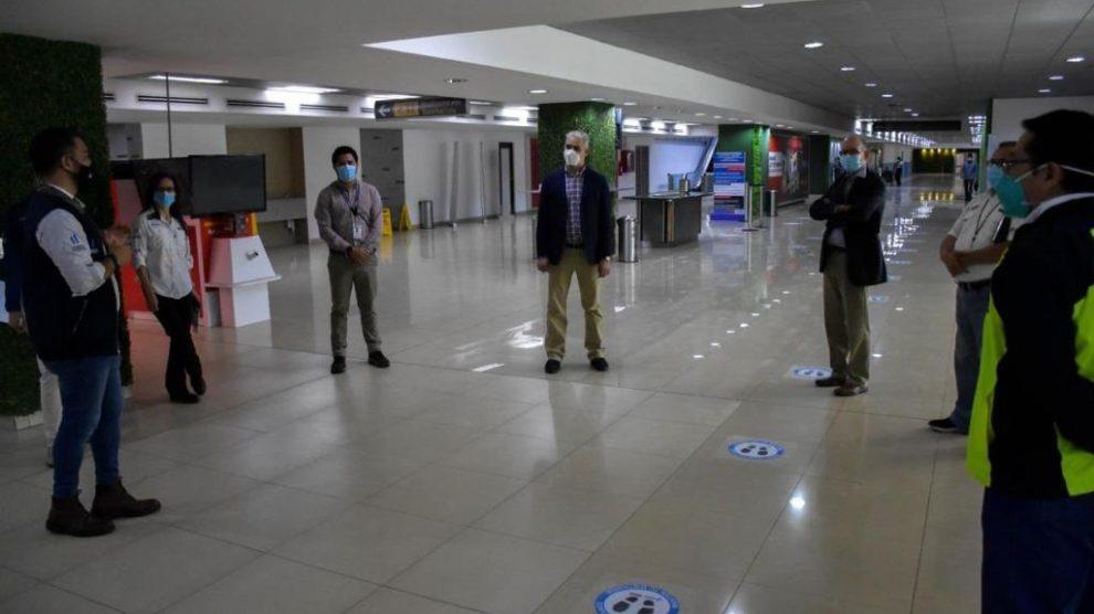 Supervisión aeropuerto La Aurora