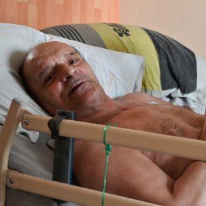 Alain Cocq, francés que padece una enfermedad rara e incurable
