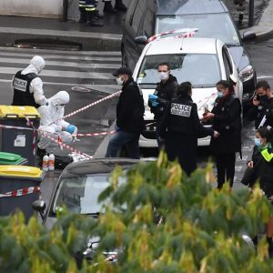 Ataque con machete en París