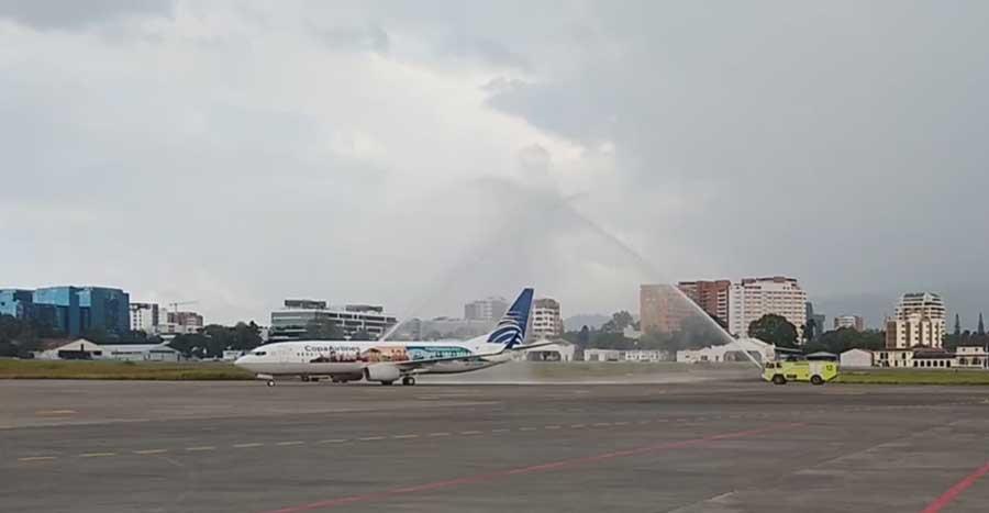 Avión de Copa Airlines
