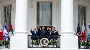 En la Casa Blanca, Baréin, EAU e Israel firman acuerdos históricos