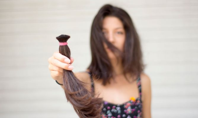 Donación cabello