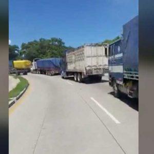 Caravana de transporte pesado