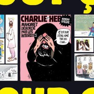 Caricaturas de Mahoma en el semanario Charlie Hebdo