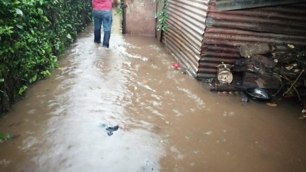 Desastres naturales en Guatemala.