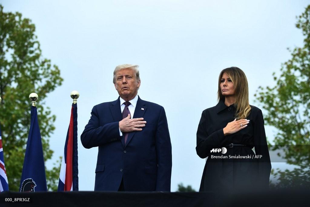 Donald Trump recuerda a las víctimas del 11 de septiembre