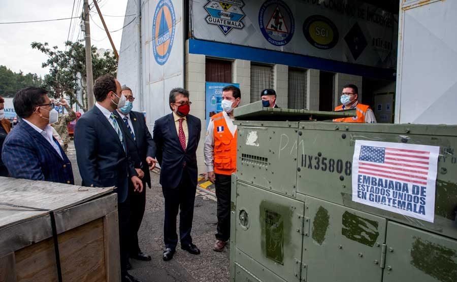 Embajada de Estados Unidos realiza donativo