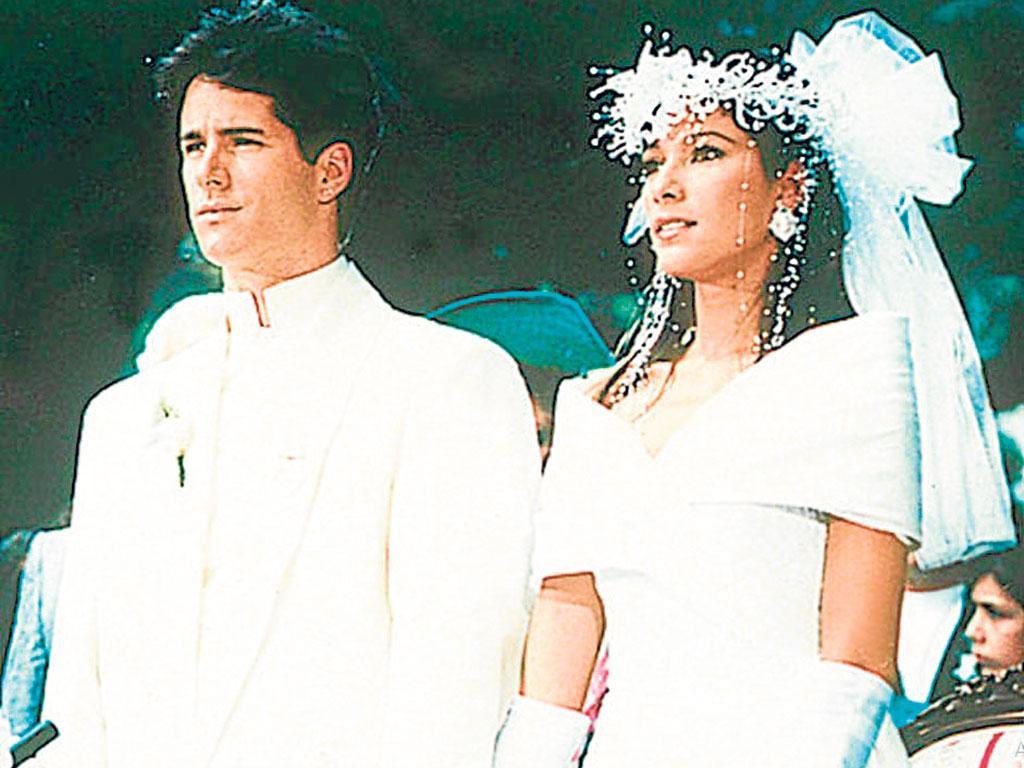 Fernando Carrillo y su ex