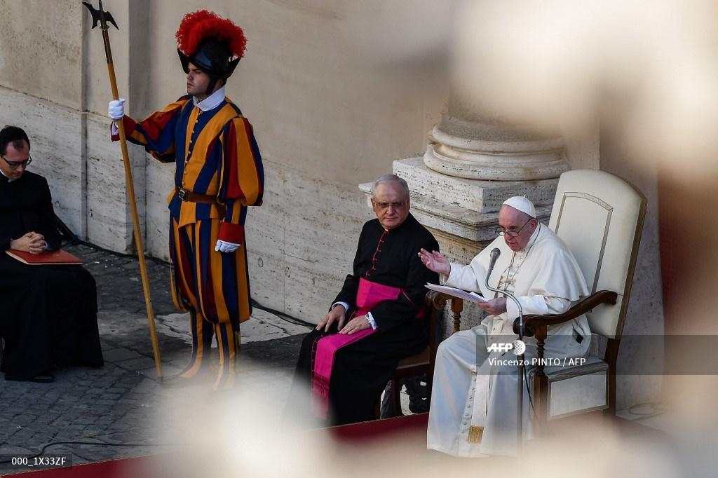 Audiencia del papa Francisco
