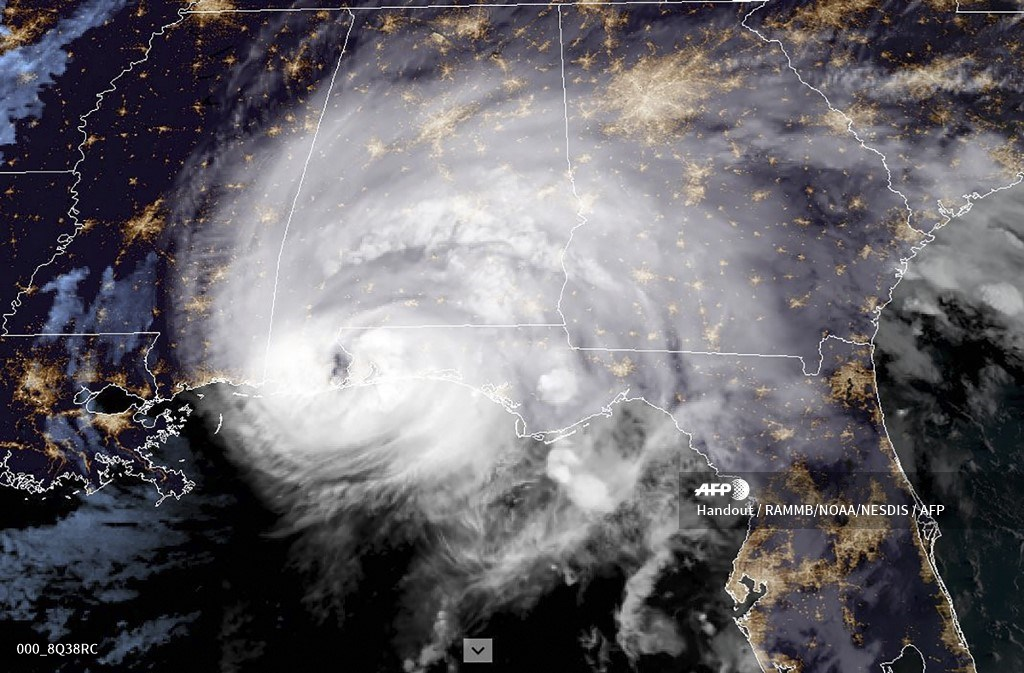 Huracán Sally sobre Estados Unidos