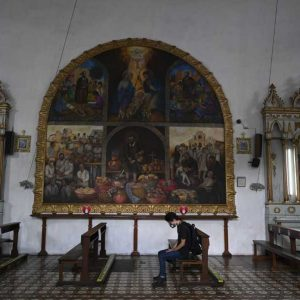 Iglesia en La Antigua Guatemala