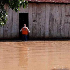 Inundaciones a causa de lluvias