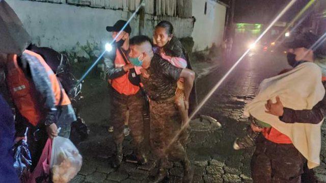 Inundaciones en Mazatenango