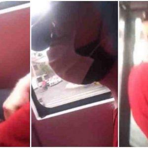 Pasajera graba a hombre que se masturbaba frente a ella en un bus