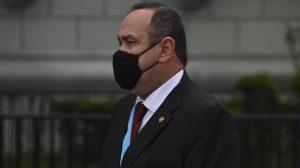 presidente Alejandro Giammattei es diagnosticado con Covid-19