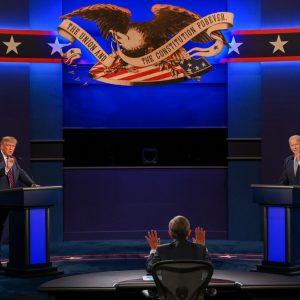 Primer debate presidencial entre Donald Trump y Joe Biden, septiembre 2020