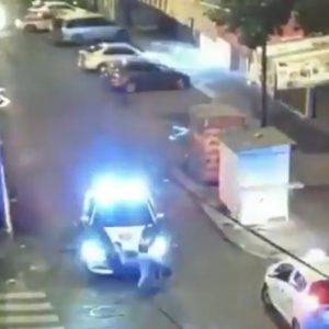 Policías atropellan a ladrón en la Ciudad de México