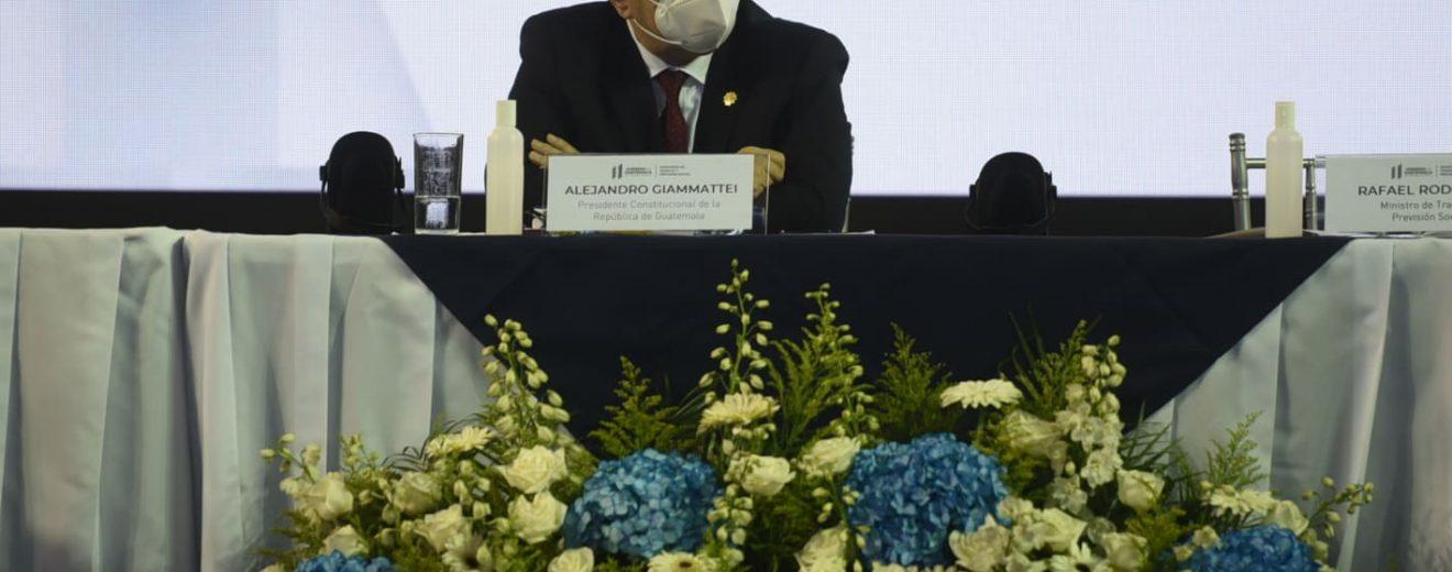 Alejandro Giammattei, presidente de Guatemala.