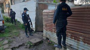 Autoridades desarrollan operativo en Escuintla.