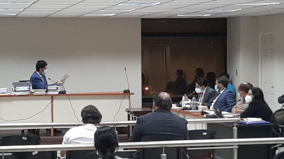 Audiencia de primera declaración por el caso Libramiento de Chimaltenango.