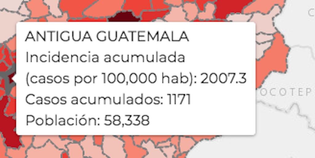 COVID-19 en Antigua Guatemala.