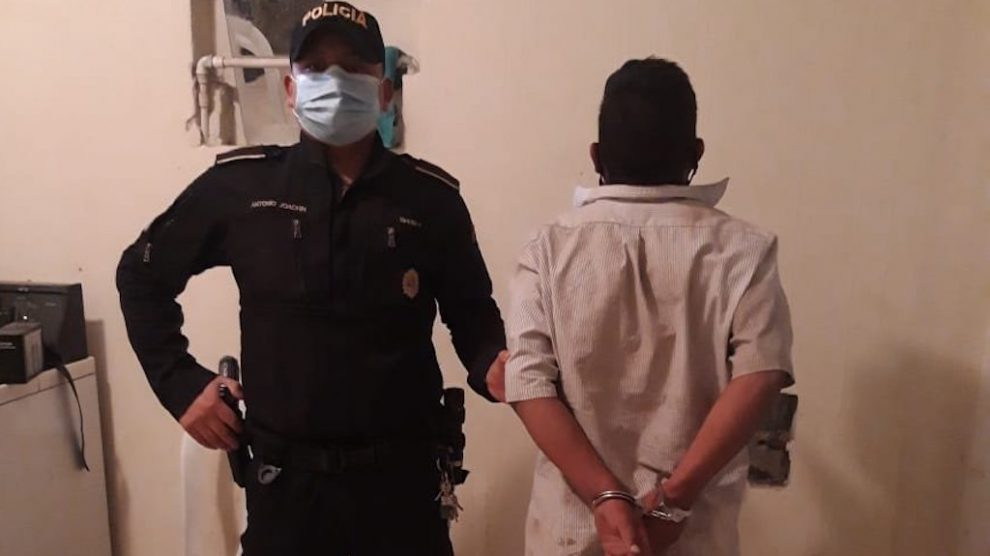 PNC capturó a Walter Joel Carrillo en Huehuetenango.