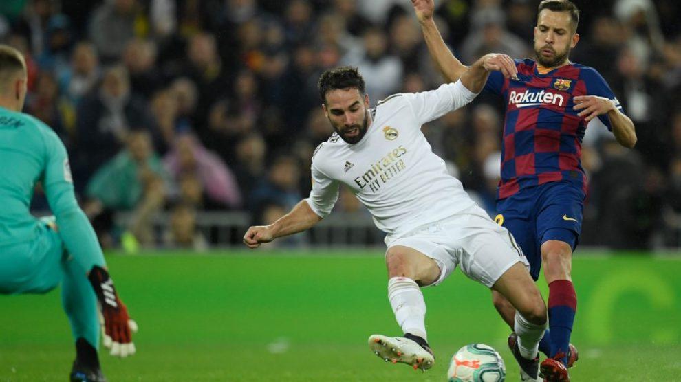 Las bajas del Barcelona y Madrid para el Clásico