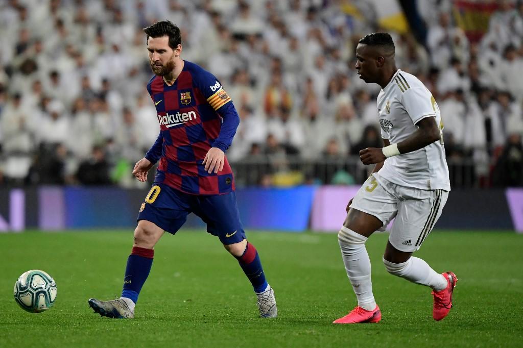 Clásico FC Barcelona vs Real Madrid, La Liga 2020
