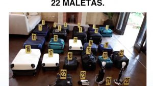 MP informa sobre allanamiento en La Antigua Guatemala.