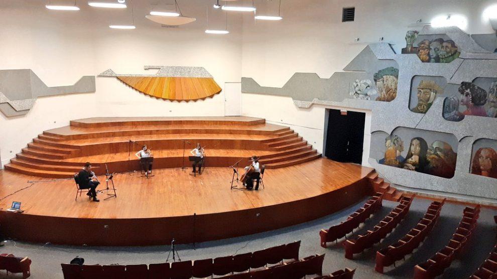 Conservatorio Nacional de Música. Foto: Orquesta Sinfónica Nacional de Guatemala