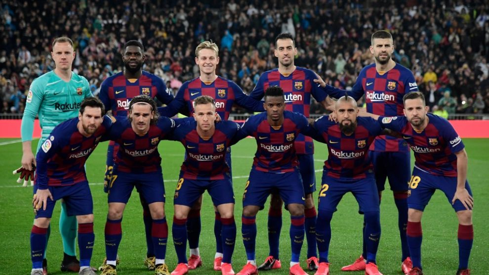 Convocados del Barcelona y Real Madrid para el Clásico