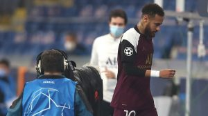 Neymar baja para el PSG