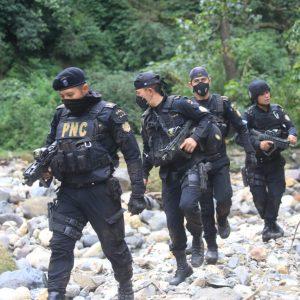 Operativo de la Policía Nacional Civil (PNC).