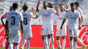 Triunfo del Madrid sobre el Huesca
