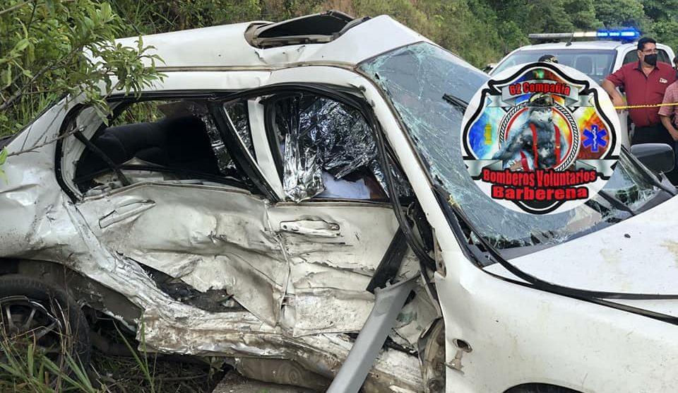 Mortal accidente en Barberena