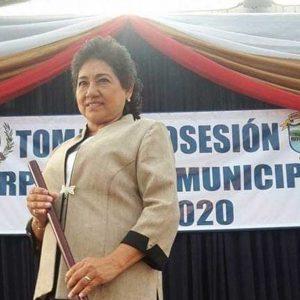 Alcaldesa Estela Gabriela de Chávez