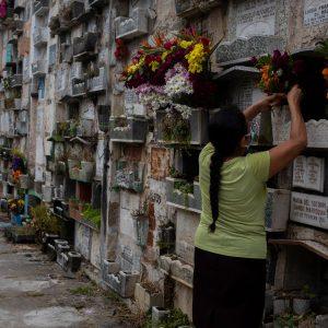 Visita al Cementerio General
