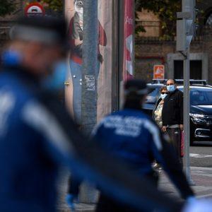 Vuelven los retenes policiales para luchar contra el coronavirus en Madrid