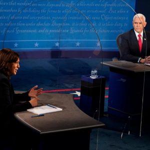 Debate vicepresidencial entre Kamala Harris y Mike Pence (2020)